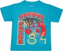 Transformers Optimus 84 Juvenile T Shirt