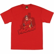 Batman Robin Wingman Shadow T Shirt