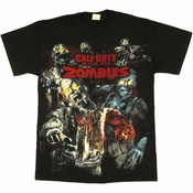 Call of Duty Black Ops Zombies T Shirt