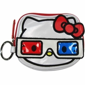 Hello Kitty 3D Glasses Coin Purse