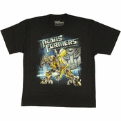 Transformers Dark Moon Bumblebee Youth T Shirt