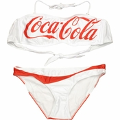 Coca-Cola Bandeau Low Rise Bikini Swimsuit