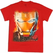Iron Man Armored Avenger T Shirt