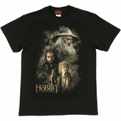 Hobbit Trio Painting T Shirt