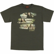 Hobbit Dwarven Traits T Shirt