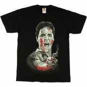 Scarface Smoking Gun T Shirt