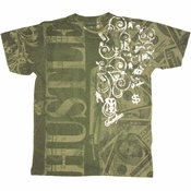 Scarface Money Hustle T Shirt Photo Sheer