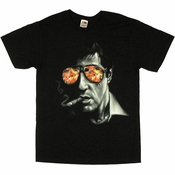 Scarface Fiery Shades T Shirt