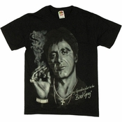 Scarface Goodnight Cigar T Shirt