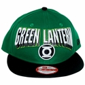 Green Lantern Block Name Hat