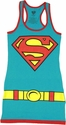 Supergirl Costume Tank Top Dress
