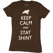 Firefly Keep Calm Stay Shiny Baby Tee