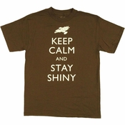 Firefly Keep Calm Stay Shiny T Shirt