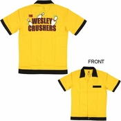 Big Bang Theory Wesley Crushers Bowling Shirt