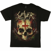 Slayer Ritual Skull T Shirt
