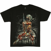 Iron Maiden Somewhere in Time Cyborg Eddie T Shirt