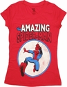 Spiderman Amazing Circle Baby Tee