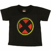 X Men Logo Toddler T Shirt