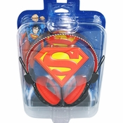 Superman Logo Headphones