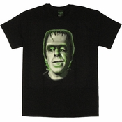 Munsters Green Herman T Shirt