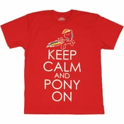 My Little Pony Keep Calm T Shirt Sheer