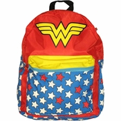 Wonder Woman Caped Backpack