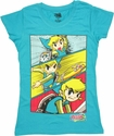 Zelda Spirit Tracks Panels Baby Tee