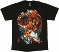 Marvel Fight T Shirt