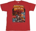 Iron Man Duo T-Shirt Sheer