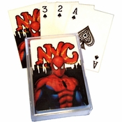 Spiderman NYC Playing Cards