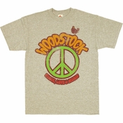 Woodstock Peace T Shirt