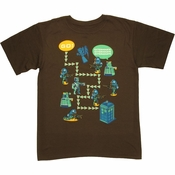 Doctor Who Game Path T Shirt