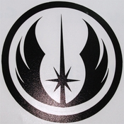 Star Wars Jedi Order Black Decal