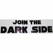 Star Wars Join Dark Side Black Decal
