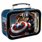 Captain America First Avenger Tin Lunch Box