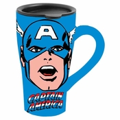 Captain America Ceramic Travel Mug