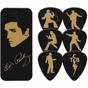 Elvis Silhouette Guitar Pick Set