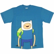 Adventure Time Finn Youth T Shirt