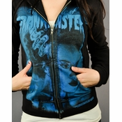 Bride of Frankenstein Blue Elsa Junior Hoodie
