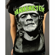 Frankenstein Name Baby Tee