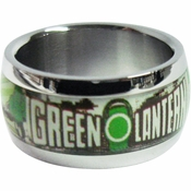 Green Lantern Comic Ring