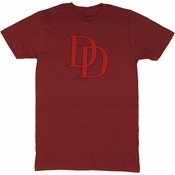 Daredevil DD Logo T Shirt Sheer