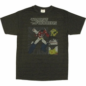 Transformers Autobot Boxes T Shirt Sheer