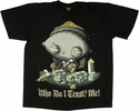 Family Guy Stewie Trust Oversized T Shirt