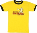 Family Guy Evil Monkey Yellow T Shirt