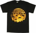 Atari Space Invaders Moon T Shirt