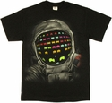 Atari Space Invaders Astronaut T Shirt