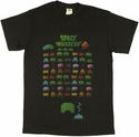 Atari Space Invaders Vintage T Shirt