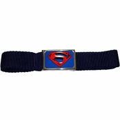 Superman Returns Navy Mesh Belt