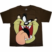 Looney Tunes Taz Youth T Shirt